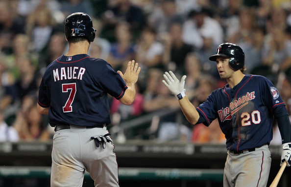joe mauer and brian dozier