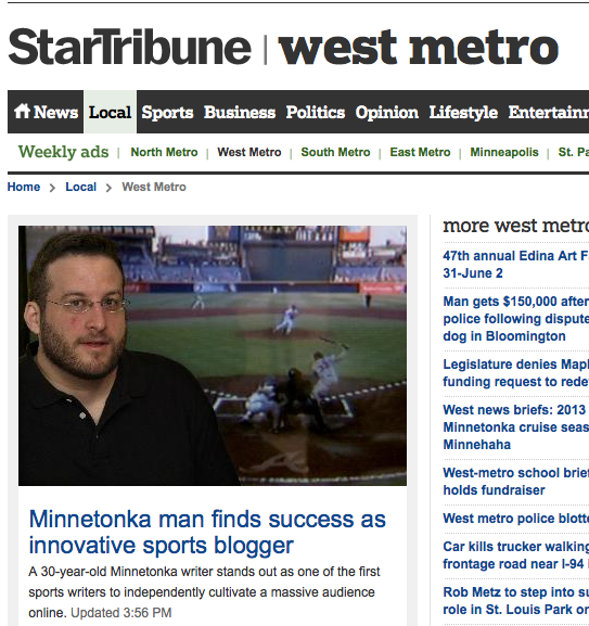 Star Tribune story