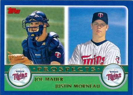 mauer and morneau rookie