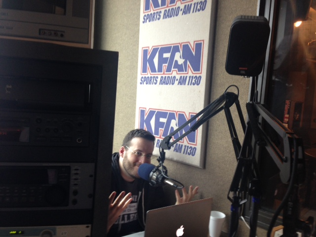 me in kfan side studio