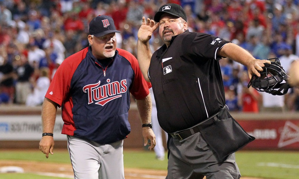 ron gardenhire ejected