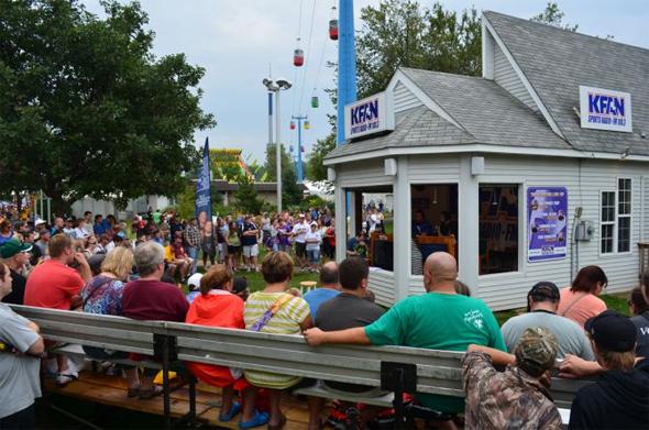 kfan booth state fair