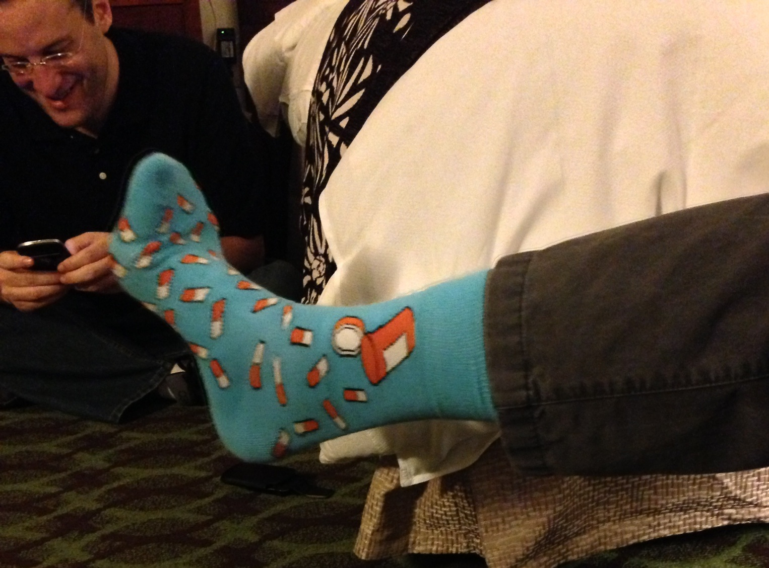 socks and me tweeting2