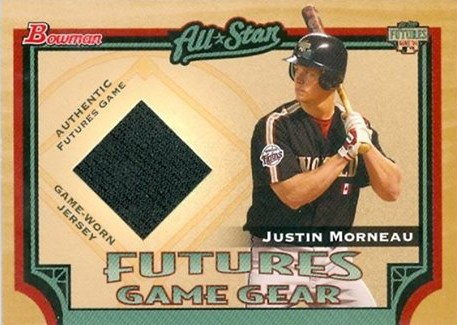 justin morneau rookie card