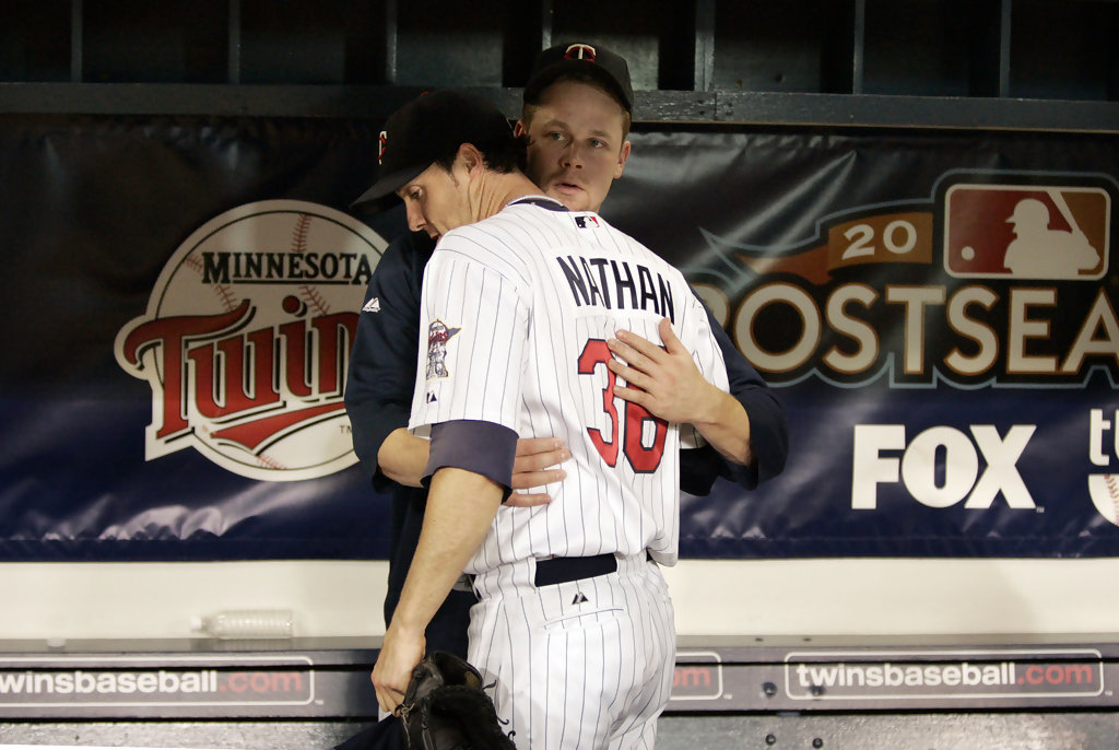 joe nathan and justin morneau twins