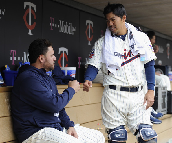 kurt suzuki and ricky nolasco