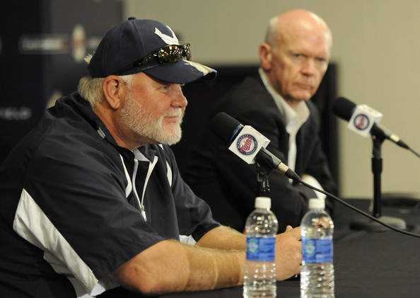Ron Gardenhire and Terry Ryan