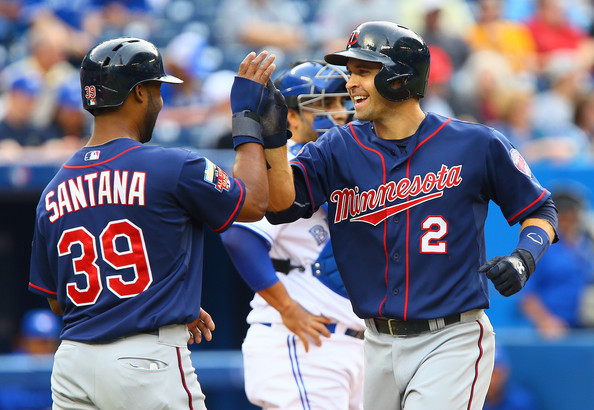 Brian Dozier and Danny Santana