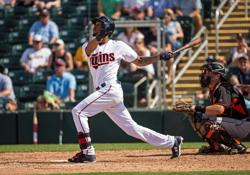 Byron Buxton Twins call-up