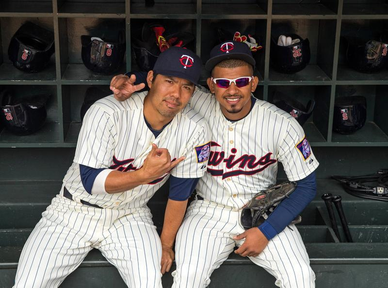 Eduardo Escobar and Kurt Suzuki Twins