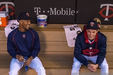 Byron Buxton and Max Kepler Twins